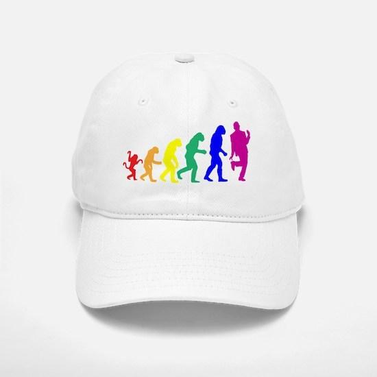 Gay Evolution Baseball Baseball Cap