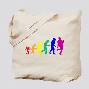 Gay Evolution Tote Bag