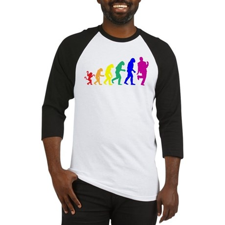 Gay Evolution Baseball Jersey