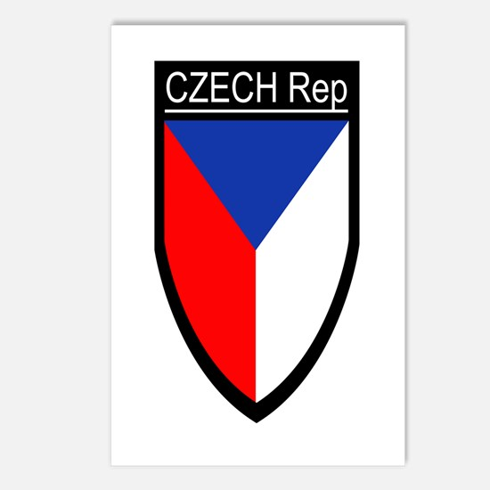 Czech Rep. Patch Postcards (Package of 8)