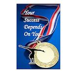 Gymnastics Postcards (8) - Success