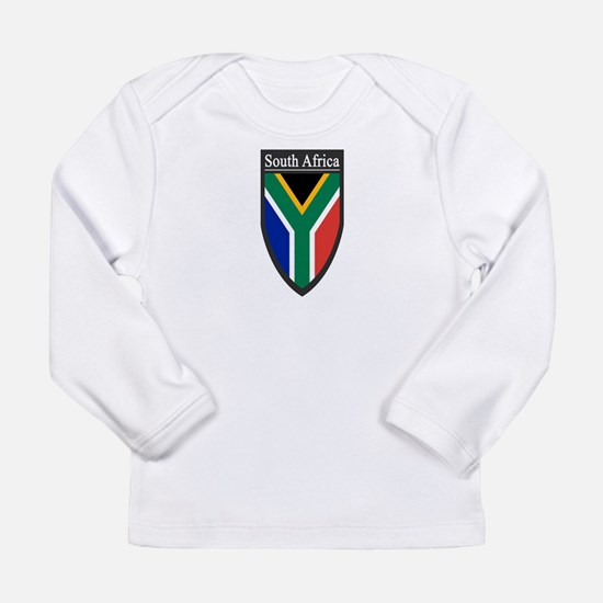 South Africa Patch Long Sleeve Infant T-Shirt
