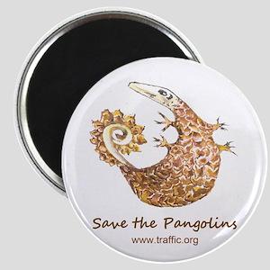 Save Pangolins Magnet
