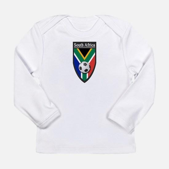 South Africa (Soccer) Long Sleeve Infant T-Shirt