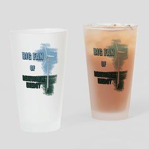 Big fan Pint Glass
