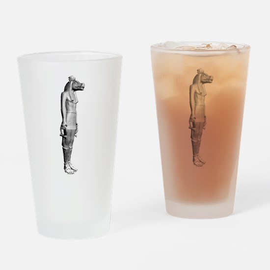 Lost - statue Pint Glass