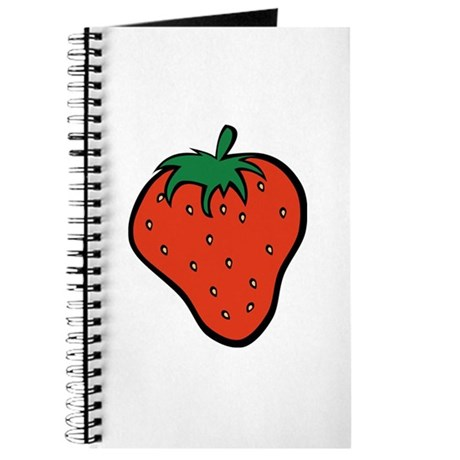 Strawberry Icon Journal