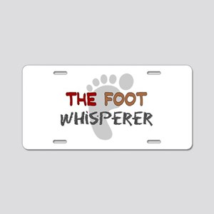 The Whisperer Occupations Aluminum License Plate