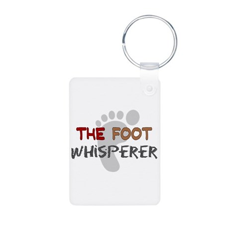 The Whisperer Occupations Aluminum Photo Keychain