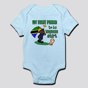 First Proud To Be Tanzanian Kids design Infant Bod
