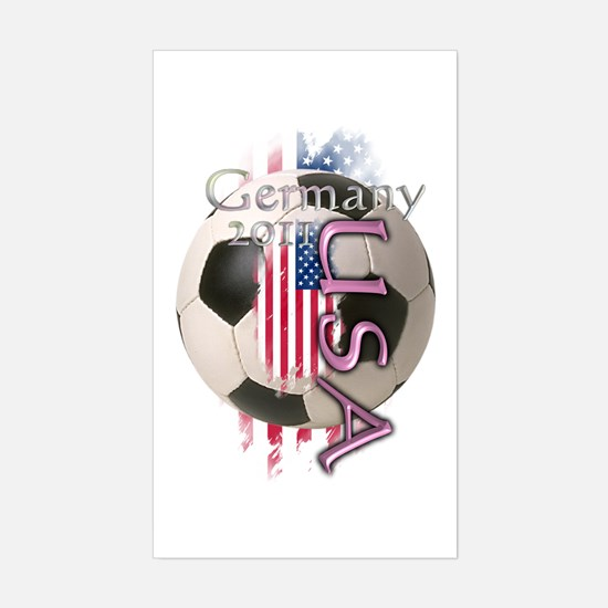 Germany 2011: Sticker (Rectangle)
