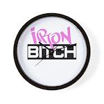 Iron Bitch Wall Clock