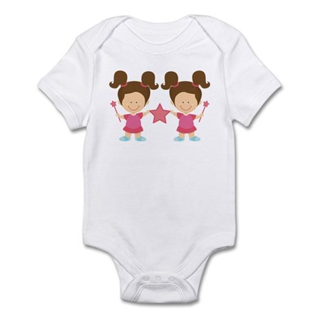 Girl Twins Gift Infant Bodysuit
