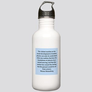werner heisenberg quotes Stainless Water Bottle 1.