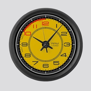 Ferrari Tachometer Large Wall Clock