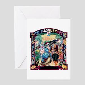 Masquerade Ball Greeting Card