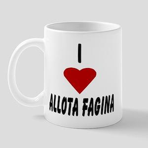 I Heart Allota Fagina Mug