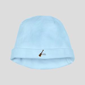 Ukulele Design baby hat