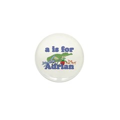 A is for Adrian Mini Button (100 pack)