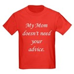 My Mom Kids Dark T-Shirt