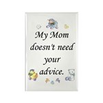 My Mom Rectangle Magnet (10 pack)