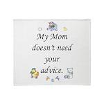 My Mom Throw Blanket