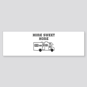 Home Sweet Home Mini Motorhome Sticker (Bumper)