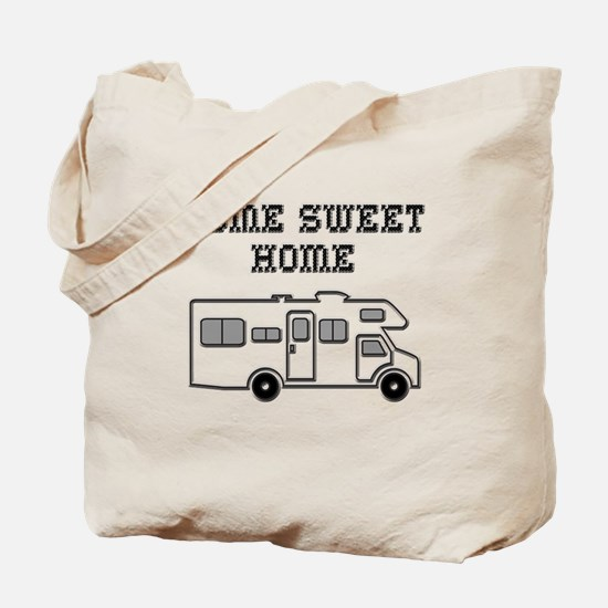 Home Sweet Home Mini Motorhome Tote Bag