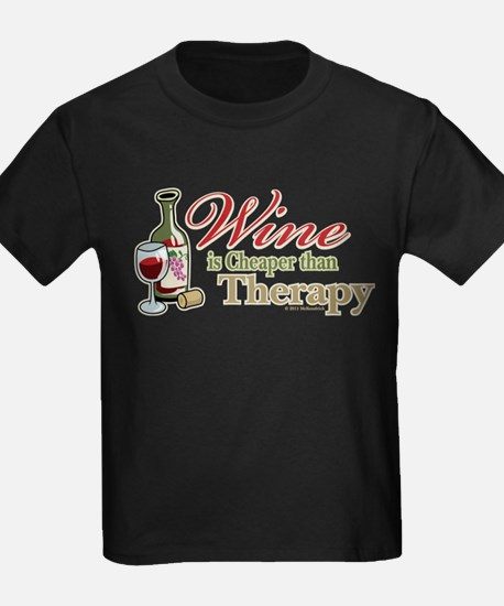 Wine Is Cheaper Than Therapy T