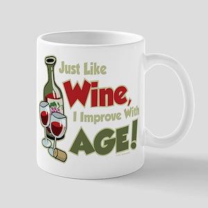 Wine Improve With Age Mug