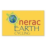Nerac Earth Rectangle Sticker