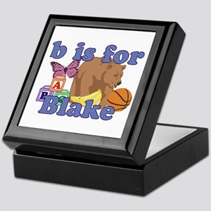 B is for Blake Keepsake Box