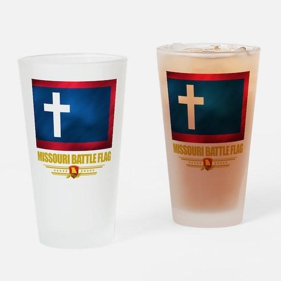 Missouri Battle Flag Pint Glass