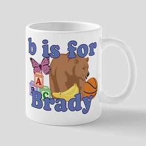 B is for Brady Mug