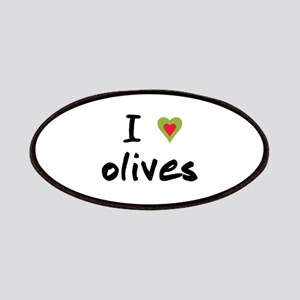 I Love Olives Patches