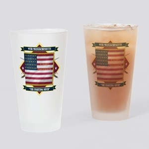 9th Massachusetts Pint Glass