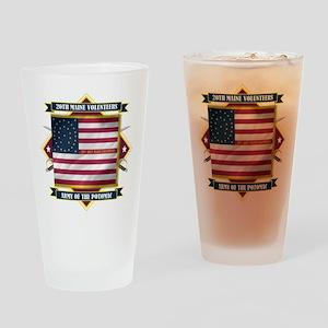 20th Maine V.I. Pint Glass