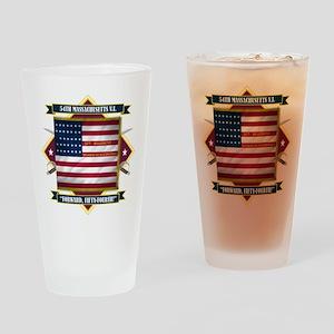 54th Massachusetts Pint Glass
