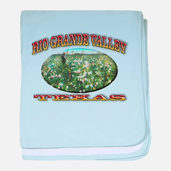 Rio Grande Valley baby blanket