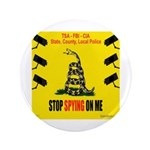 """Stopspying 3"""" Button"""