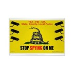 """Stopspying3x2"""" Magnet Magnets"""