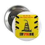 """Stopspying5x5 2.25"""" Button (100 Pack)"""