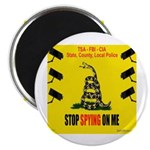 """Stopspying 2.25"""" Magnets"""