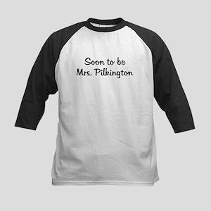Soon to be Mrs. Pilkington Kids Baseball Jersey