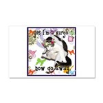 Cat Virgo Car Magnet 20 x 12