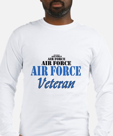 Air Force Veteran Long Sleeve T-Shirt