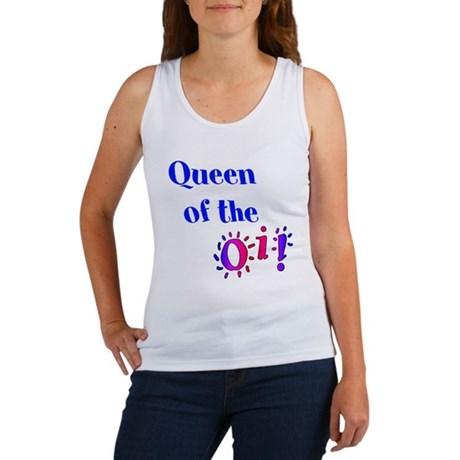 Queen of the Oi! Women's Tank Top