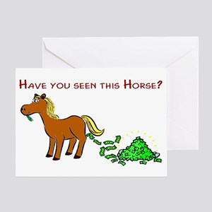 Have you seen this Horse? Greeting Card