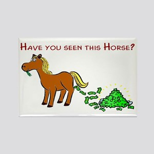 Have you seen this Horse? Rectangle Magnet