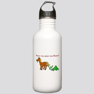 Have you seen this Horse? Stainless Water Bottle 1